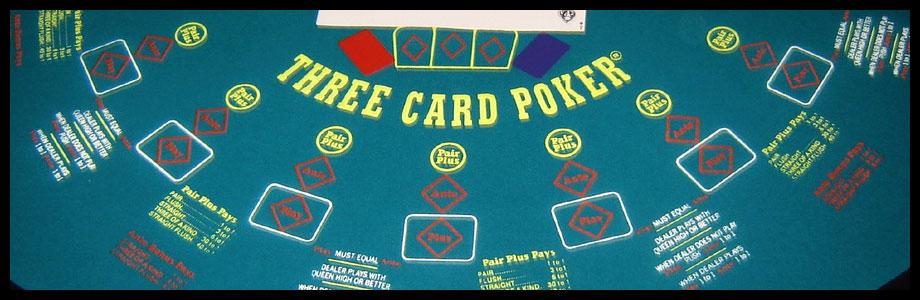 3 card poker layout directeur casino la balme de sillingy